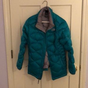 Girls The North Face Puffer Jacket